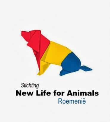 Logo Stichting New Life for Animals Roemenië